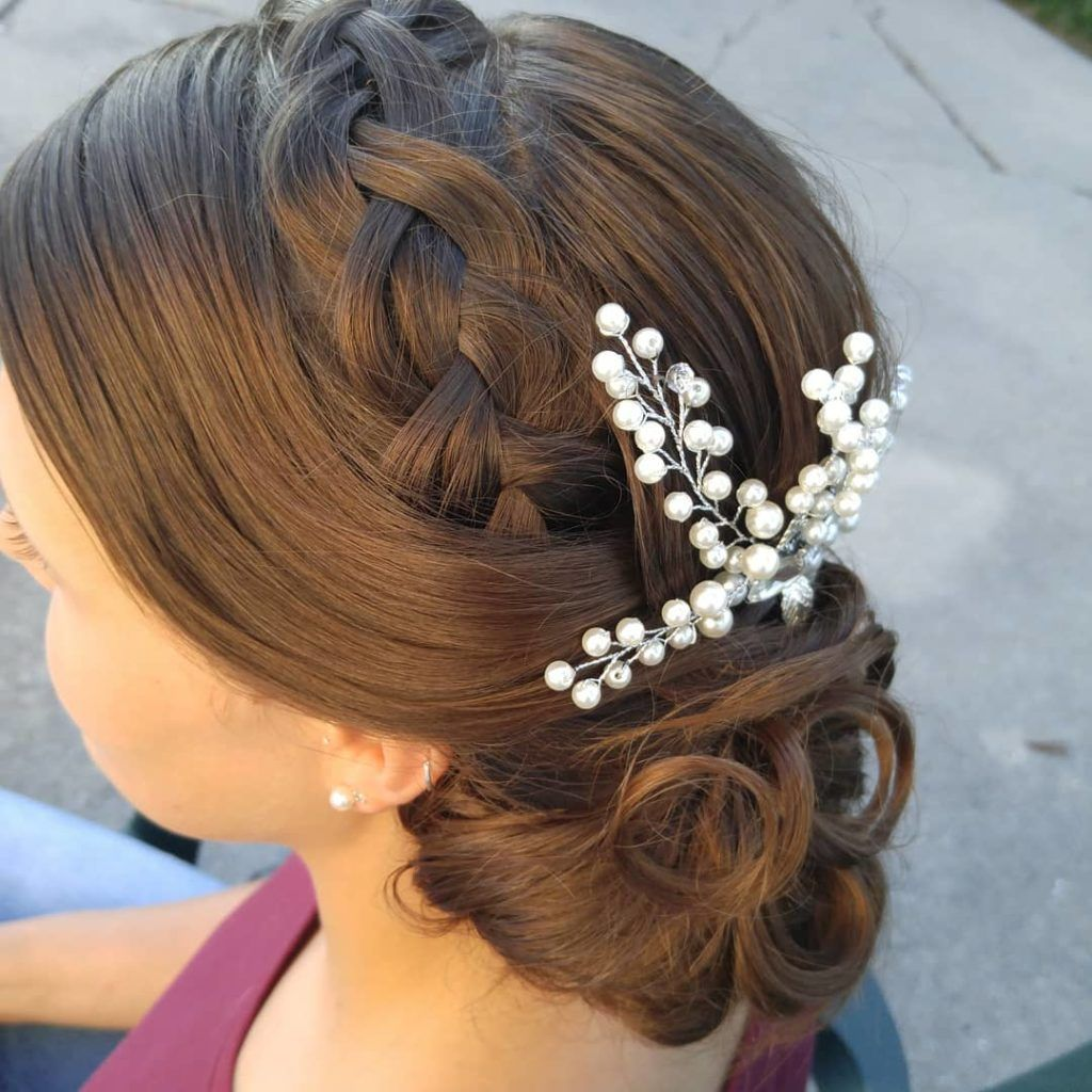 dutch braid for wedding