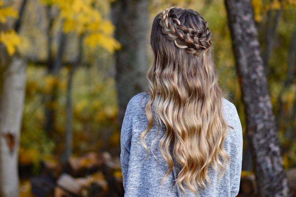 Dutch halo braid