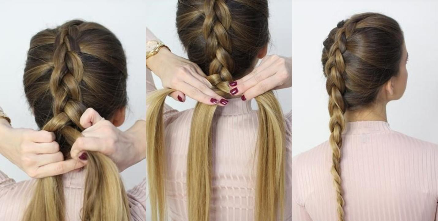 backward braid