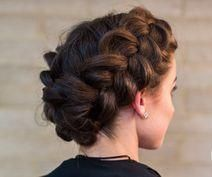 crown dutch braid