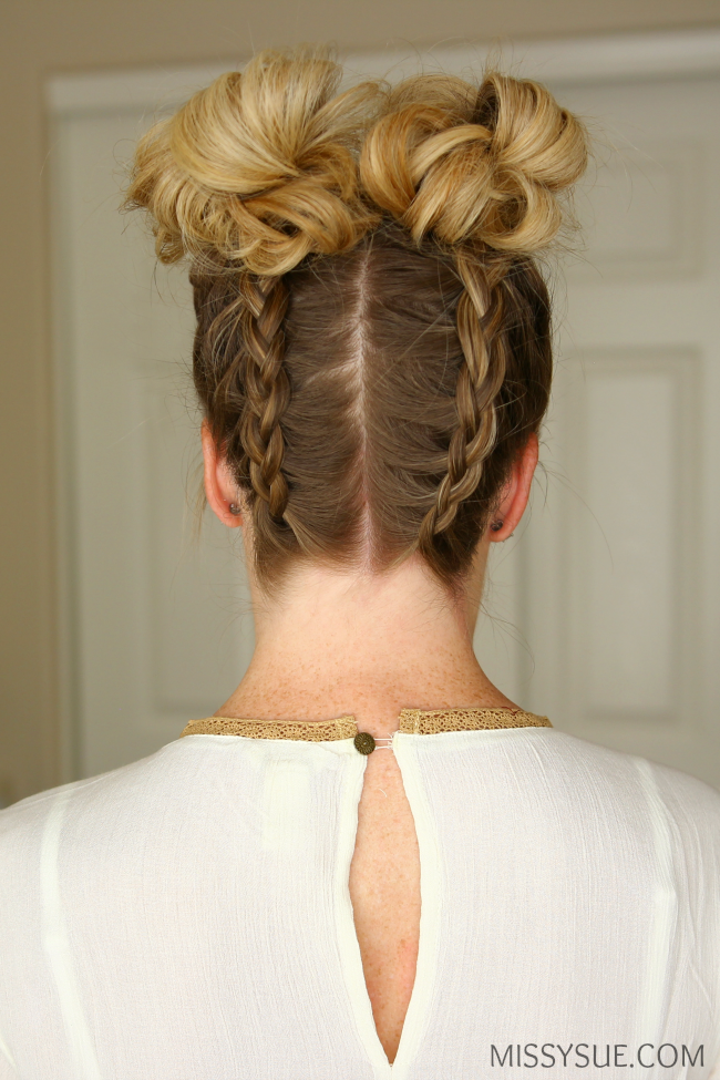 dutch braid double high