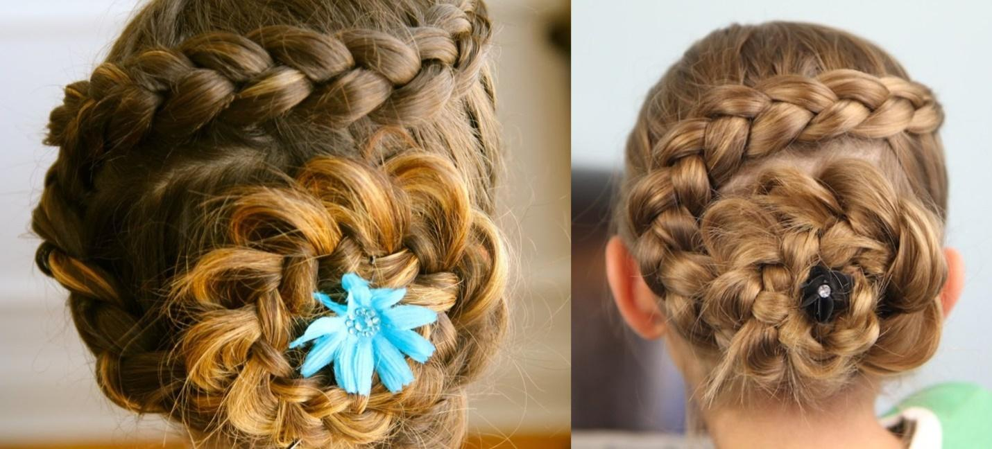 flower dutch braid