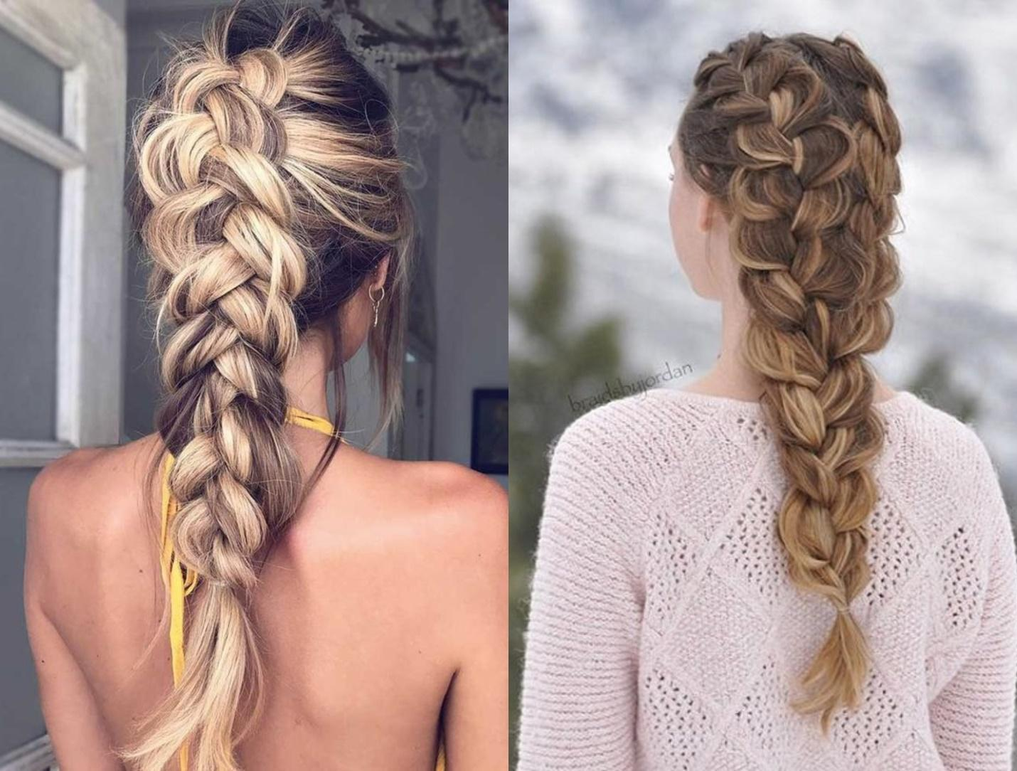 loose dutch braid