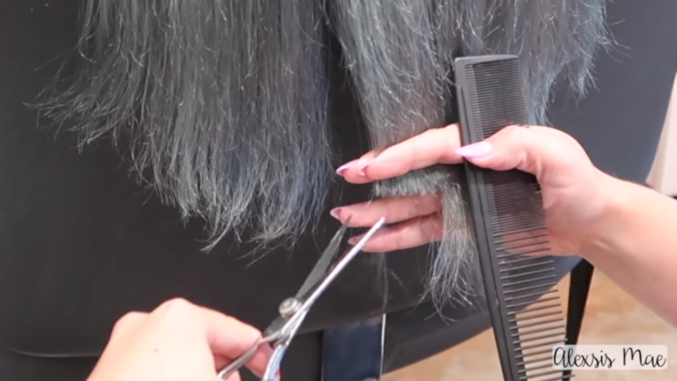 how to cut tape in hair extensions
