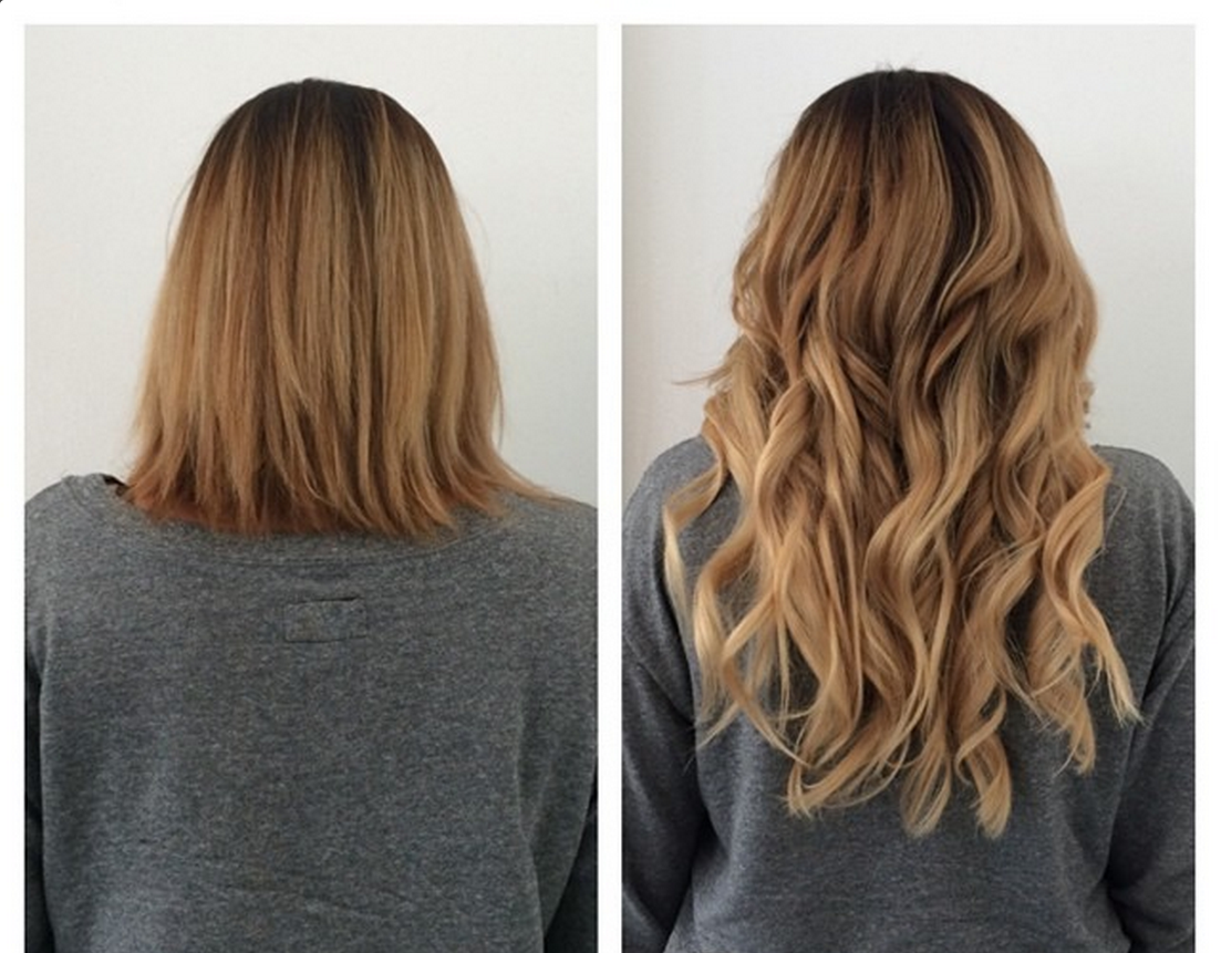 tape in hair extensions length